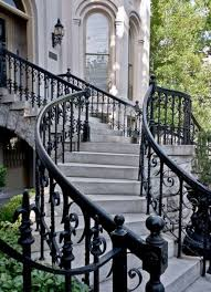 Outdoor Metal Handrails 33 Wrought Iron Railing Ideas For Indoors And Outdoors Digsdigs