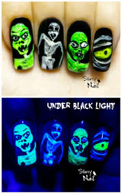 201 best halloween nails images on pinterest halloween nail