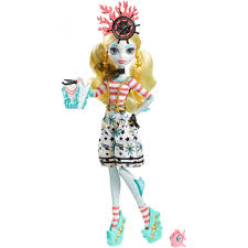 13 Wishes Lagoona Monster High Shriekwrecked Nautical Ghouls Lagoona Blue Doll