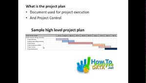 High Level Project Plan Excel Template How To Create A Simple And Visual High Level Project Plan