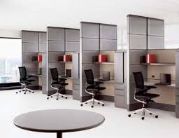 Office Desk Setup Ideas Interior Various Contemporary Minimalist Open Office Desk Layout