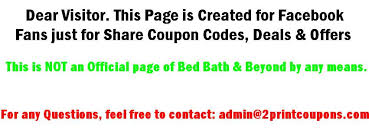 Online Coupon Bed Bath And Beyond Bed Bath And Beyond Coupons 2016 20 Off Printable Coupons