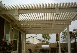 Vinyl Patio Roof Louvered Top Vinyl Patio Covers Styles Orange County Fencing