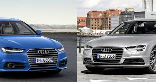 audi a6 or a7 audi a6 a7 get a fresh look inside and out slashgear