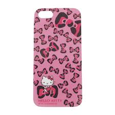 Leopard Bow Kitty Iphone 5 Case