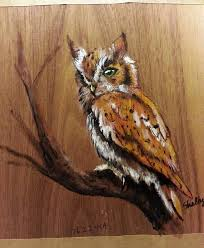 Barn Wood Paintings Owl Painting On Pine Wood By Theartofonyx On Deviantart