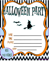 free printable halloween invitations kids u2013 festival collections