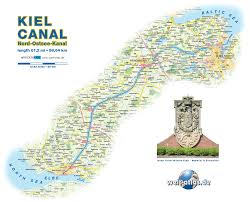World Map Germany by Map Of Kiel Canal Germany Schleswig Holstein Map In The Atlas