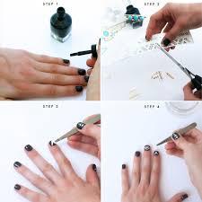 festival nail art diy no skills required