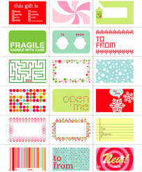 oh martha monday gift tags