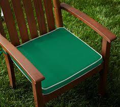 Pottery Barn Seat Cushions Sunbrella Cilantro Green 25 In L X 20 In W Chair Cushion Fits