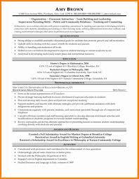 Math Teacher Resume Sample by 5 Middle Teacher Resume Examples Job Resumed