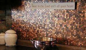 Trendy And Chic Copper Kitchen Backsplashes DigsDigs - Copper tile backsplash