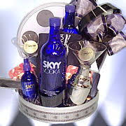 vodka gift baskets custom gift baskets product launches media caigns