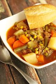 slow cooker vegetable beef soup favorite family recipes