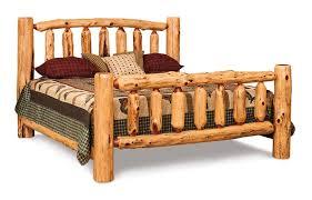 Cabin Bed Frame Log Cabin Bed Frames Rustic Cedar Log Cabin King Bed From
