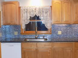 glass tile kitchen backsplash kitchen stunning blue recycled glass tile kitchen backsplashes for