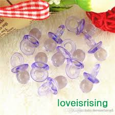 lavender baby shower decorations best pack 22mm 11mm clear lavender mini acrylic baby pacifier