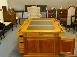 Schreibtischplatte Mit Schubladen Schreibtisch Partnerdesk Büromöbel Aus Massivholz