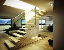 Free Standing Stairs Design Stairs Design Free Standing Stages Glass Railing Lighting