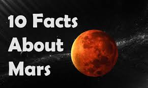 top 10 facts about mars
