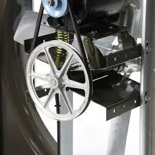 vi cabinet exhaust fan 60 inch 43100 cfm 3 phase belt drive vi6019
