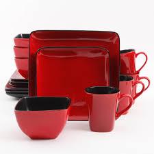 dinnerware red berry mikasa dinnerware set red stoneware
