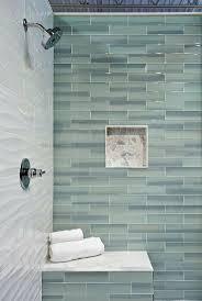 Subway Tile Small Bathroom Tiles Glass Tile Fireplaces Design Glass Subway Tile Designs