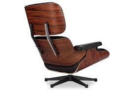 Lounge Ottoman Eames Lounge Chair Vitra Black Manhattan Home Design