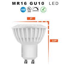 Led Light Bulb Mr16 by Led Mr16 Gu10 5 Watt Choose Soft White Or Daylight