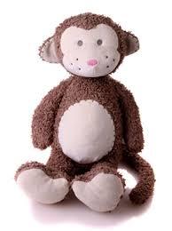 Baby Monkey Meme - charlie meme monkey baby organics large teddy bears uk