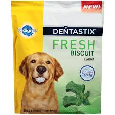 pedigree dentastix fresh biscuit large 3 lb