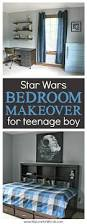 bedroom makeover for a special teenage boy and star wars fan