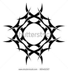 crown thorns jesus christ stock vector 389276548 shutterstock