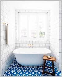 blue and white bathroom floor tiles tiles home decorating