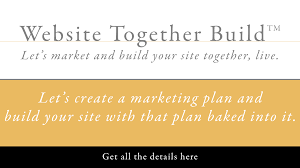 website build plan let u0027s market and build your site together web design and