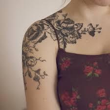 tribal flower tattoo sleeve