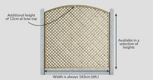 Curved Trellis Fence Panels Continental Trellis Curved Diamond Lattice Trellis Fence Panel
