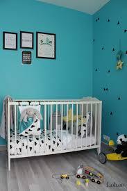 chambre noir et turquoise déco chambre noir blanc et turquoise déco chambre bébé enfant
