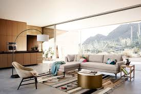 Overarching Floor L A Modernist Mountain Retreat In Tucson Front