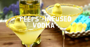 martini peep easter recipes how to make peeps infused vodka youtube
