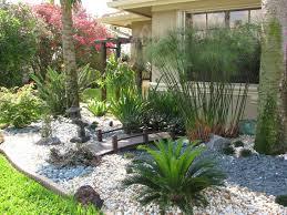 garden landscaped yards florida landscape ideas front yard