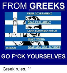 Funny Greek Memes - 25 best memes about european union cyprusball and greek