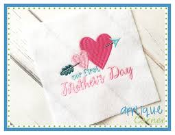 Mother S Day Designs Applique Corner Our First Mothers Day Embroidery Design