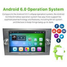1024 600 android 6 0 2005 2011 opel zafira car stereo gps