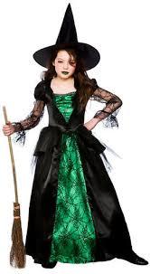 halloween witch hat girls fancy dress up horror kids childrens