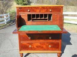 brass key secretary desk butlers desk ebay