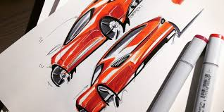 3 key lines to sketching cars in perspective thesketchmonkey