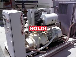 2005 gardner denver 75hp rotary compressor 75hp used