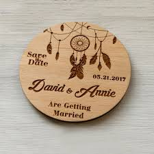 save the date designs save the date dreamcatcher design rustic wedding announcement